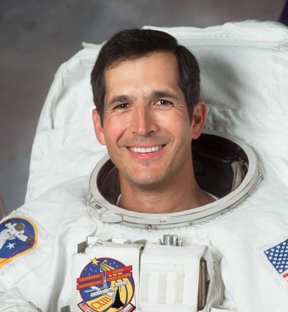 NASA astronaut Dr. John Herrington to speak to students and teachers at Charles T. Koontz Intermediate School