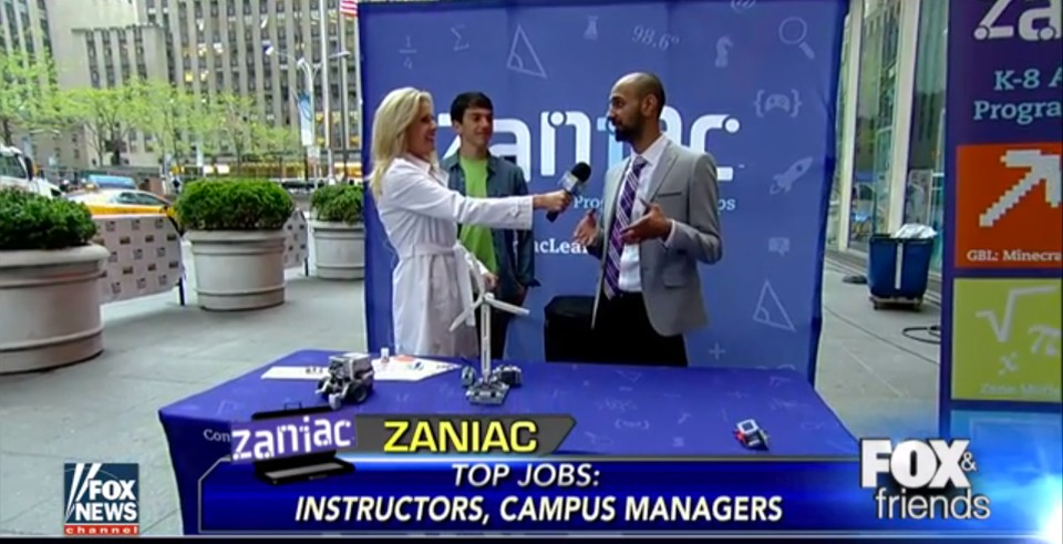 Zaniac Featured on Fox & Friends