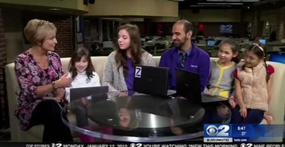Zaniac Featured on KUTV Morning News — Campus News — South